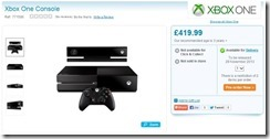 Xbox One on November 29th