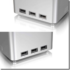 LUXA2 P-MEGA possesses a whopping six USB ports to power six devices
