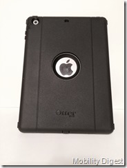 Mobility digest Review OtterBox Defender for iPad Air back