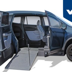 Wheelchair Car Modern Grey Dining Chairs Uk The Perfect Alternative To Minivans Honda Pilot Accessible Vehicles