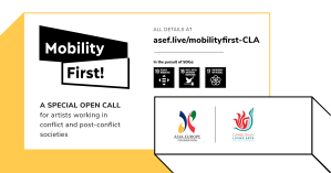ASEF Mobility First CLA Artists at Risk
