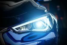 Info Graphic : Car Headlight