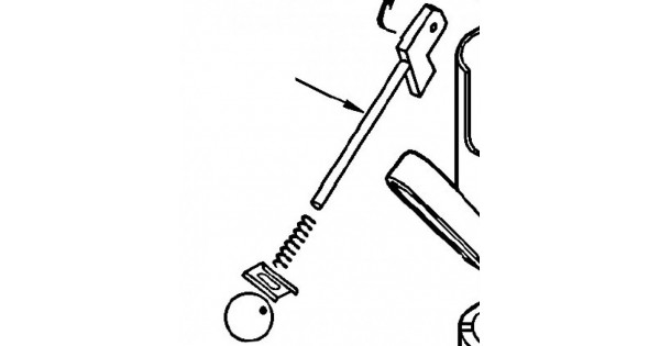 Oxford Mermaid Locking handle complete