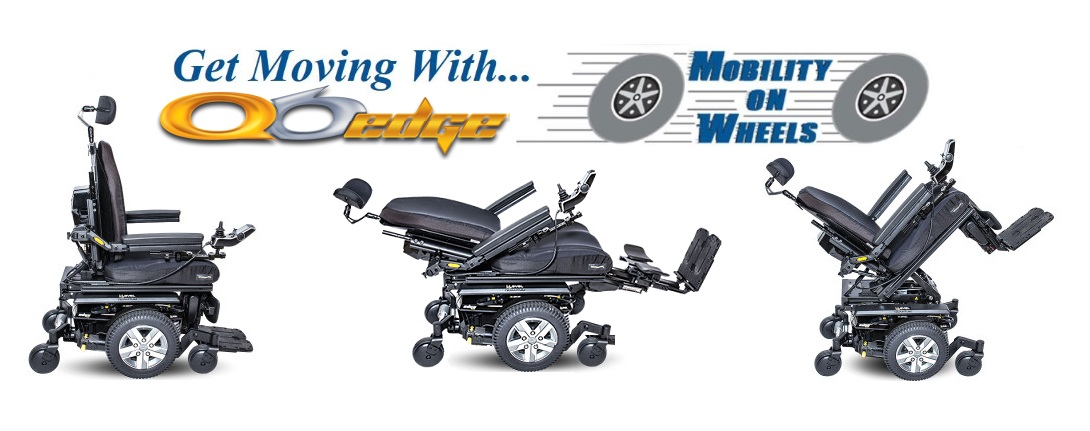 Quantum Edge 6 Rehab Power Wheelchair Rental from Mobility On Wheels