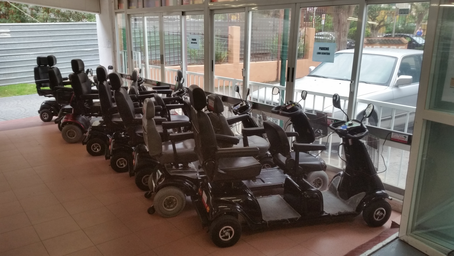 wheelchair hire bali white cotton chair covers free park and charge mobility scooter in benidorm easyhire 1