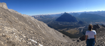 There are many hiking trails to try in the Rocky Mountains of Alberta