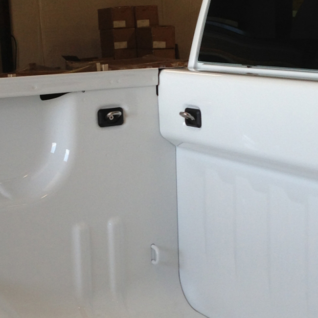 Chevy Bullet Retractable Tie Down Mobile Living Truck