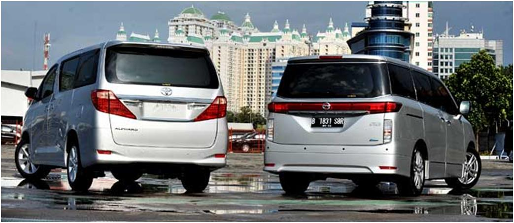 perbedaan all new alphard x dan g ukuran ban grand avanza toyota 2 4g vs nissan elgrand luxurious battle rizal auto