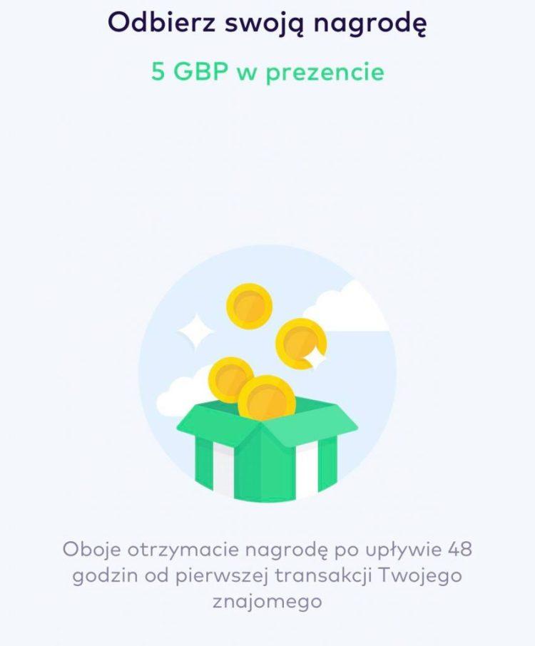 monese bonus 5gbp promocja 2021
