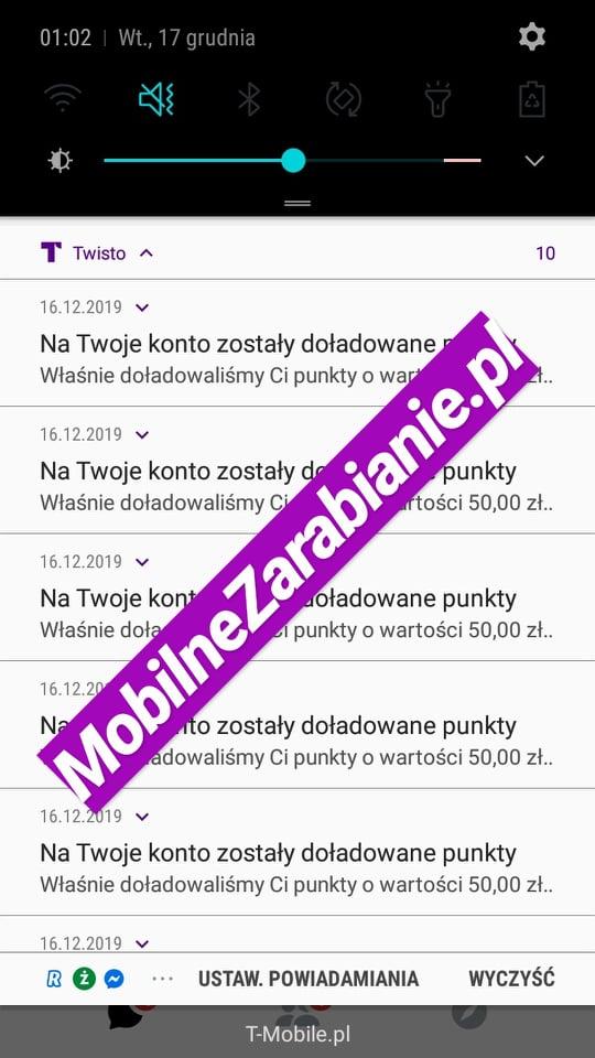 dowody wyplat w twisto.pl 50zl