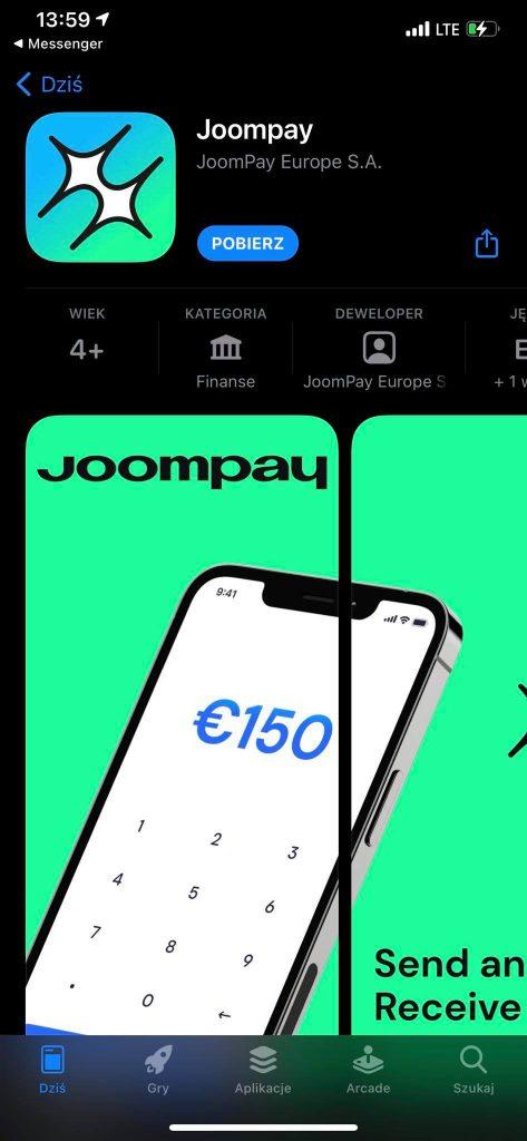 joompay program zaproszeniowy z premia 7 euro