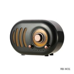 Bluetooth zvucnik Remax Retro RB-M31 crni