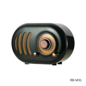Bluetooth zvucnik Remax Retro RB-M31 zeleni
