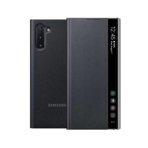 Samsung Maska Clear View za Note 10 crna (EF-ZN970-CBE)