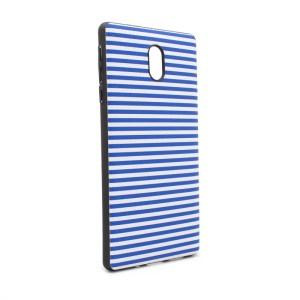 Maska Luo Stripes za Nokia 3 plava