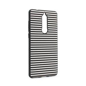 Maska Luo Stripes za Nokia 5.1 2018 crna