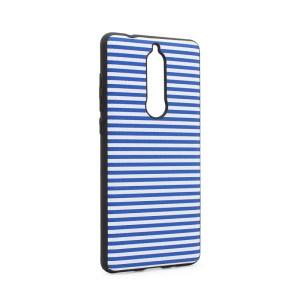 Maska Luo Stripes za Nokia 5.1 2018 plava