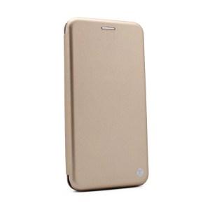 Maska Teracell Flip Cover za Motorola Moto E4 Plus zlatna