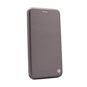 Maska Teracell Flip Cover za Motorola Moto G6 Play/Moto E5 srebrna