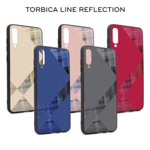 Maska Line reflection za Samsung A202F Galaxy A20e roze