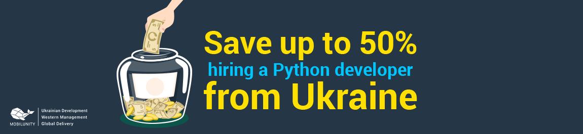 Cost of Python Developer In Ukraine (from $600) 💰   Mobilunity