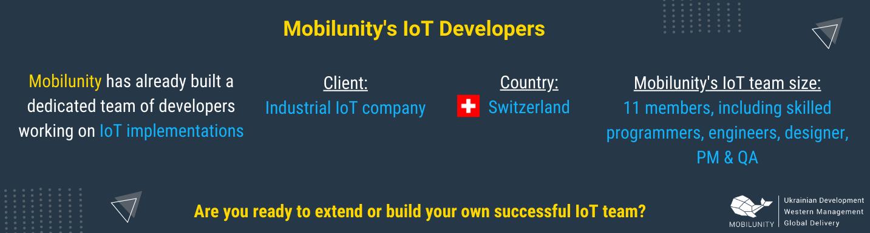 iot developer iot engineer salary