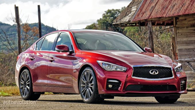 infiniti-q50-red-sport-400-review front exterior