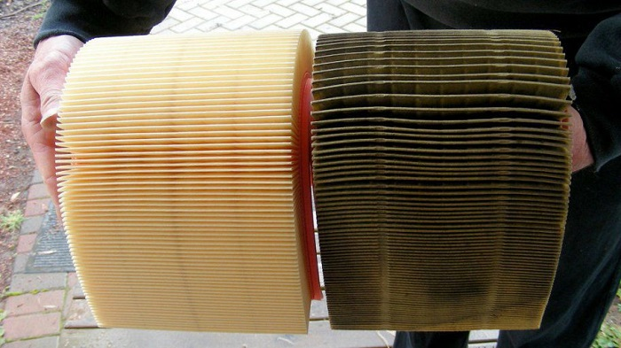 gambar-contoh-saringan-udara-yang-bersih-dan-kotor