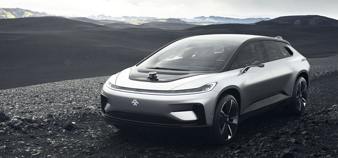 gambar mobil listrik