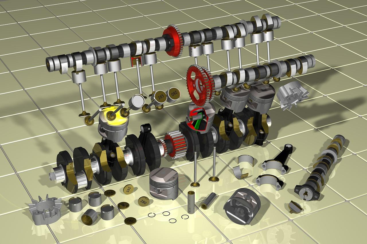 spare part perbaikan mesin