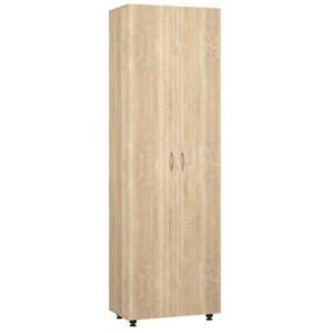 Офисный шкаф для одежды ШГО дуб сонома