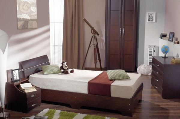 Кровать Inter Star 1.2m Sonoma