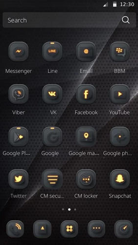 Metta: Black app for Android, download programs for phones and tablets for free.