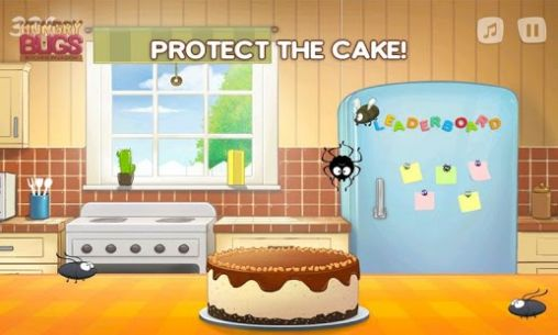 kitchen game glass tiles for backsplashes hungry bugs invasion android download apk free screenshot 2