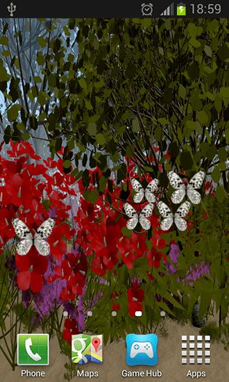 Butterflies 3d Live Wallpaper Apk Butterflies By Wizzhard Live Wallpaper For Android