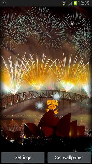 Galaxy S4 3d Live Wallpaper Apk Fireworks Pour Android 224 T 233 L 233 Charger Gratuitement Fond D
