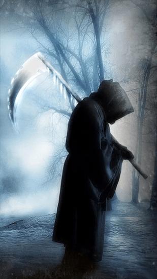 Falling Leaves Live Wallpaper Full Apk Grim Reaper Live Wallpaper For Android Grim Reaper Free