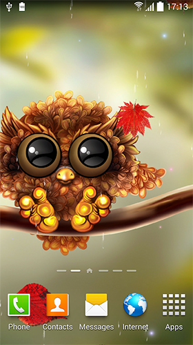 Falling Leaves Live Wallpaper Full Apk Owl By Live Wallpapers 3d Live Wallpaper For Android Owl
