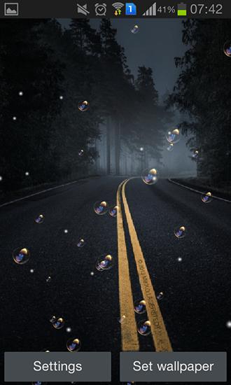 3d Galaxy Live Wallpaper Full Apk Road Night Hd Live Wallpaper For Android Road Night Hd