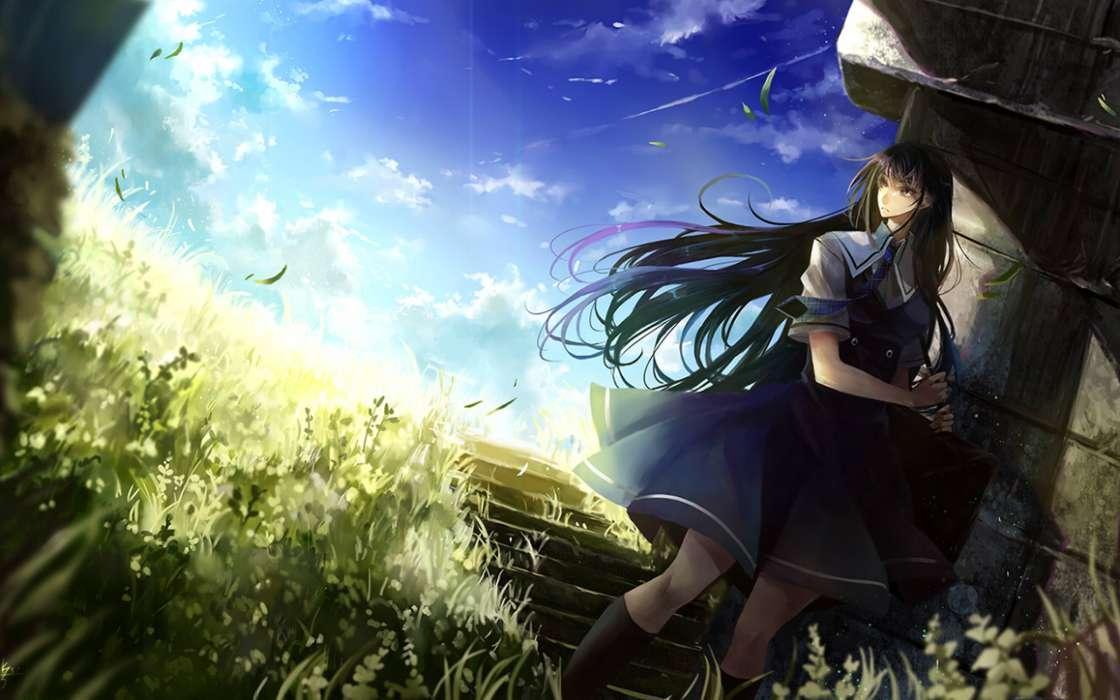 Download Bilder fr das Handy Anime Mdchen kostenlos