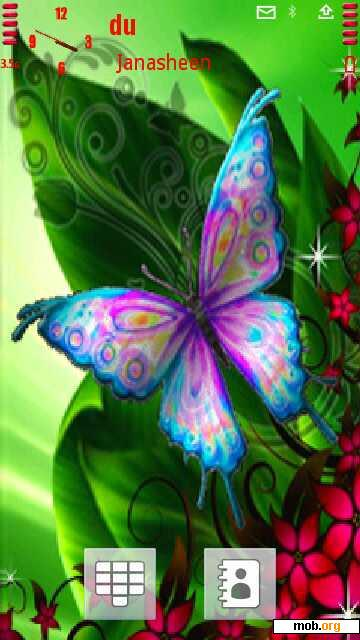download free butterfly theme