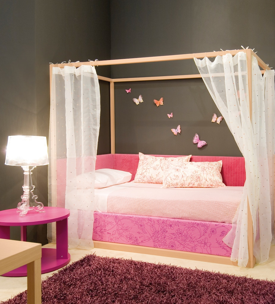 kinderbett m dchen pastellfarben im kinderzimmer ikea hemnes suche nach dem. Black Bedroom Furniture Sets. Home Design Ideas