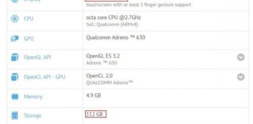 Sony Xperia XZ3 revealed on GFX Bench