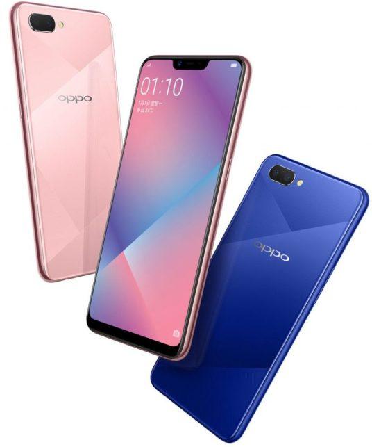 Oppo A5 announced