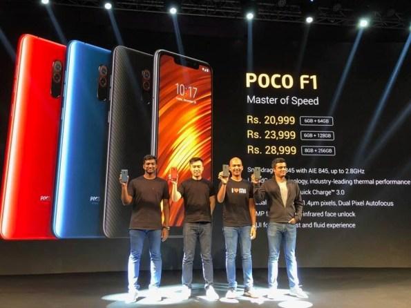 Xiaomi Poco F1 launched
