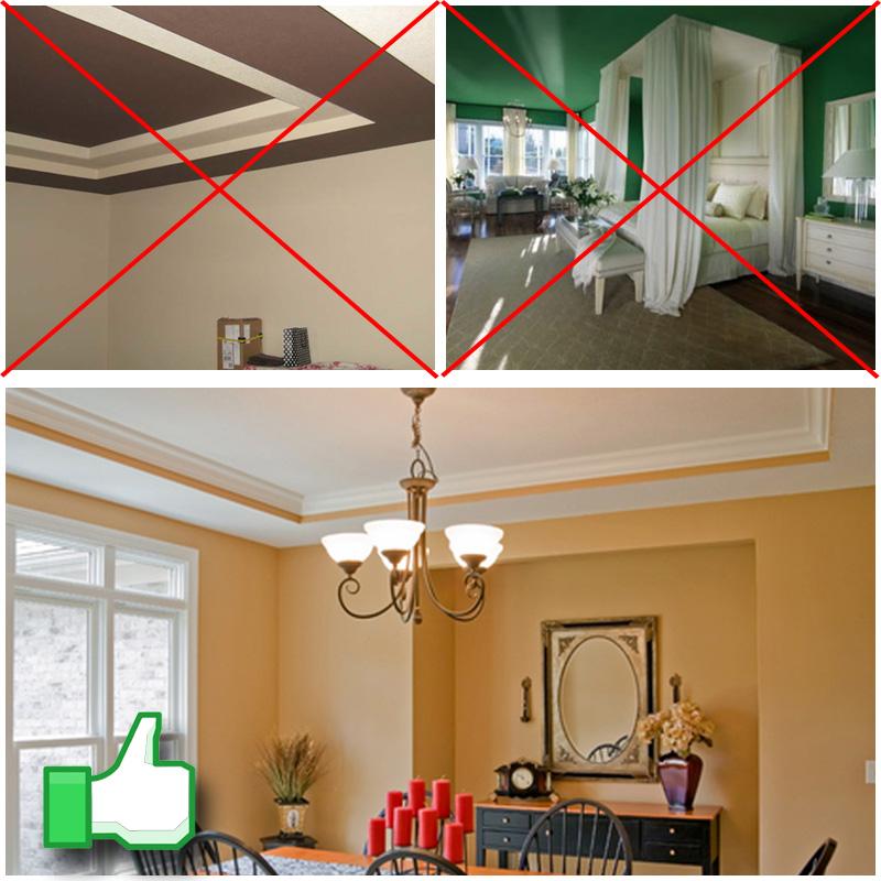 Iluminar una habitaci n oscura 10 trucos y los mejores - Trucos para pintar techos ...