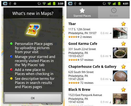 Google Maps 5.8