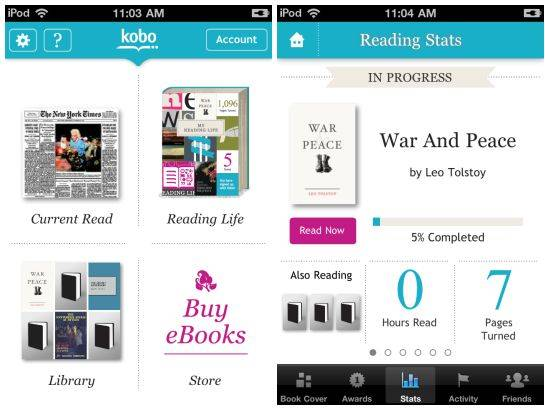 Kobo for iOS