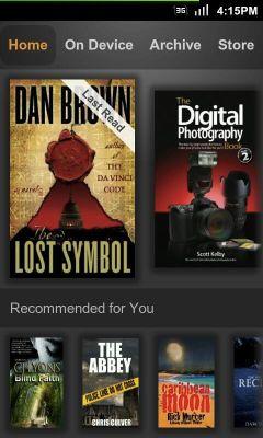 Amazon Kindle 3.1