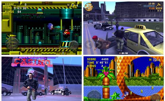 Sonic CD and GTA III